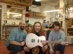 Jeff Smallwood, Marc Lupien, Daniel Fiocco